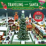 Traveling with Santa Pop-Up Advent Calendar by American Artists Group