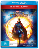 Doctor Strange on Blu-ray, 3D Blu-ray