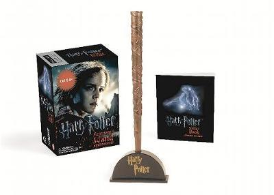 Harry Potter Hermione's Wand with Sticker Kit by Running Press image