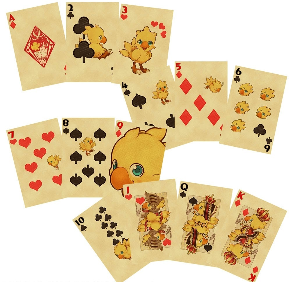 Final Fantasy: Chocobo Playing Cards image