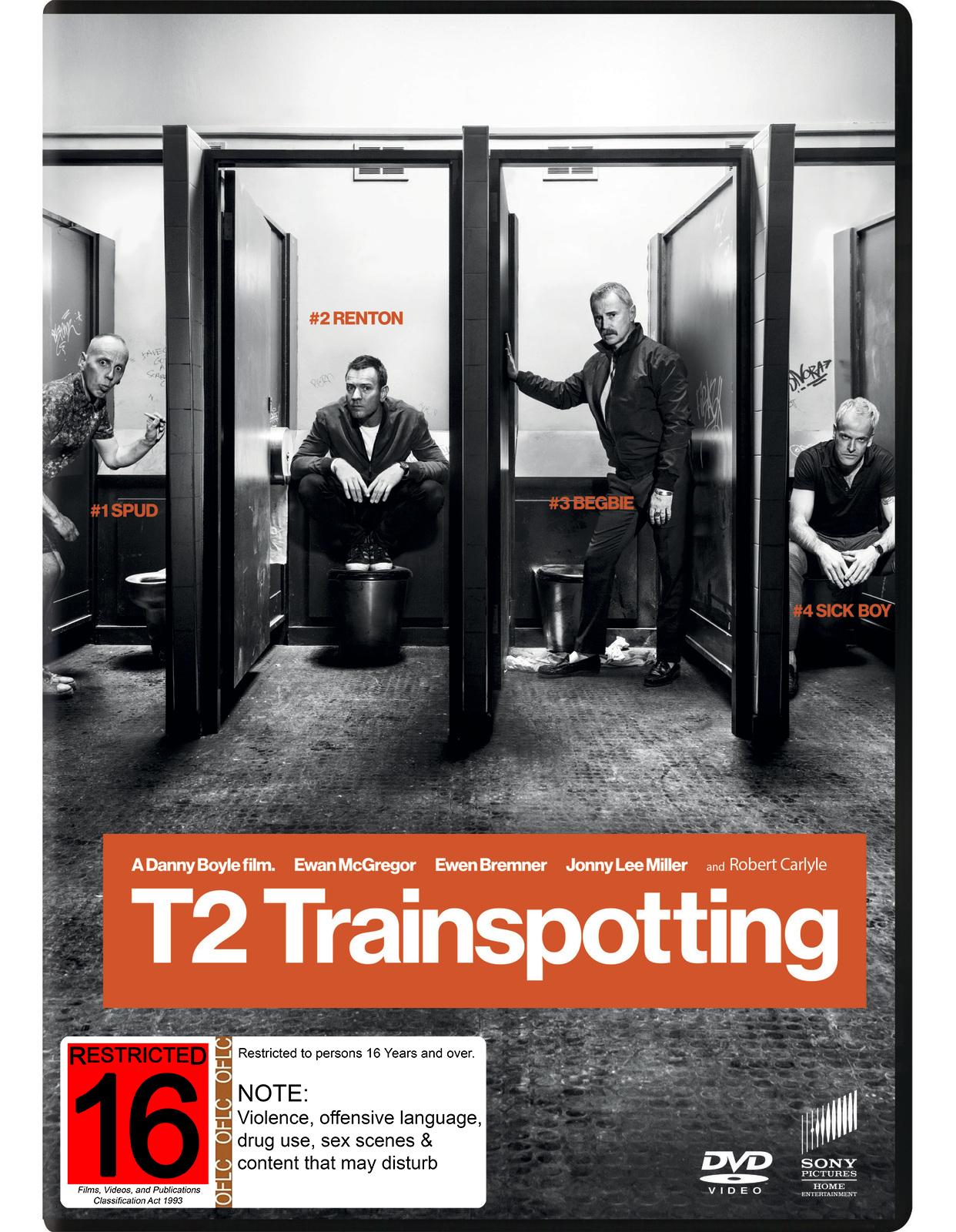 Trainspotting 2 DVD image