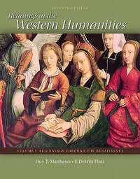 Readings in the Western Humanities, Volume 1 image