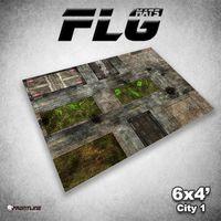 FLG City 1 Neoprene Gaming Mat (6x4)