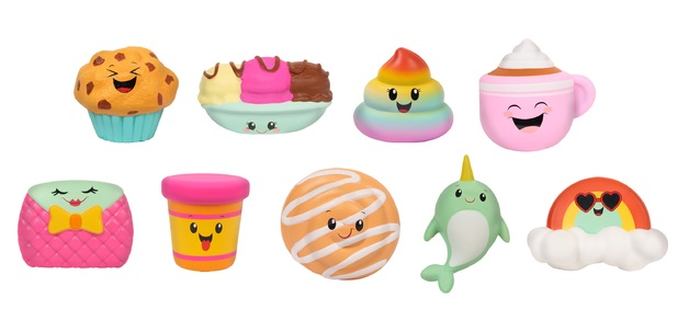 Kawaii: Jumbo Squeezies - (Assorted Designs)