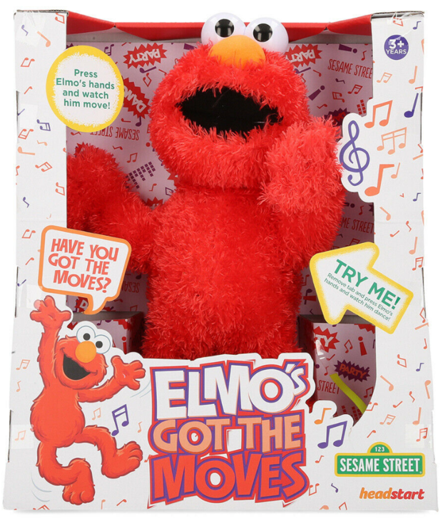 Sesame Street: Elmos Got The Moves - Interactive Plush