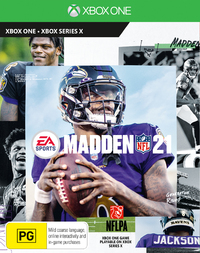 Madden NFL 21 for Xbox One