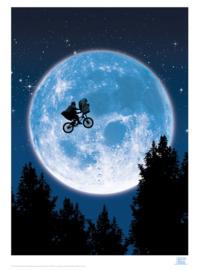 E.T : Premium Art Print - Moon (Limited Edition)