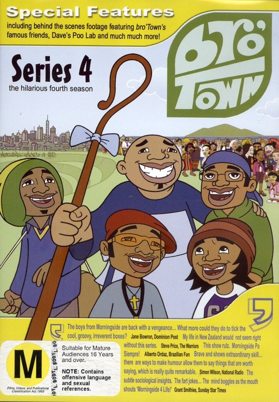 Bro' Town - Series 4 on DVD