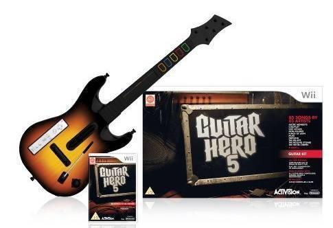 Guitar Hero 5 Guitar Bundle (Game + Guitar) for Nintendo Wii
