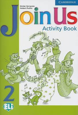 Join Us 2 Activity Book by Gunter Gerngross