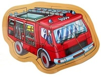 Fun Factory - Push Up Puzzle Fire Engine
