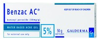 Benzac AC Gel 5% for Acne Treatment (50g)