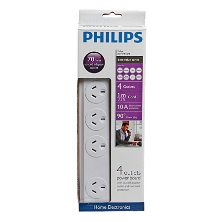 Philips 4 Way Powerboard image