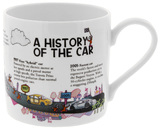 McLaggan Smith: Brainwaves Coffee Mug - History of the Car