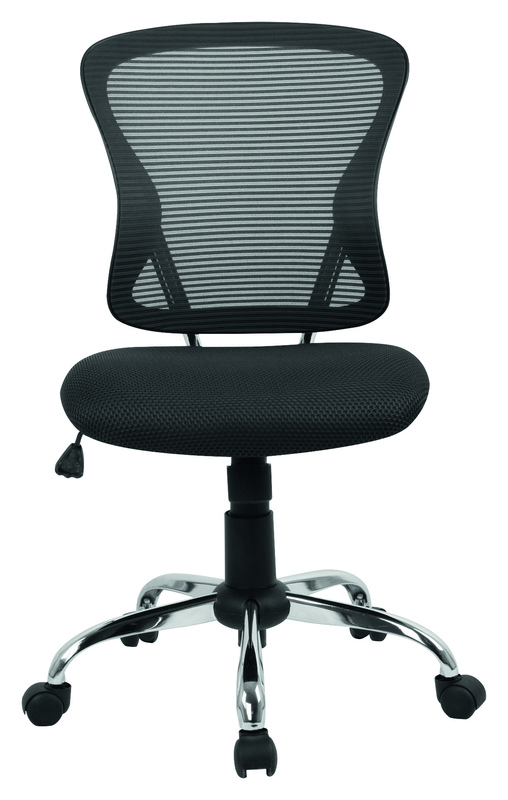 Brenton Mesh Mid Back Office Chair - Black
