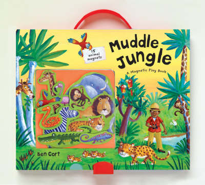 Muddle Jungle: A Magnetic Play Book