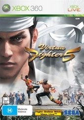 Virtua Fighter 5 & DVD Street Fighter 2: Movie bundle for Xbox 360