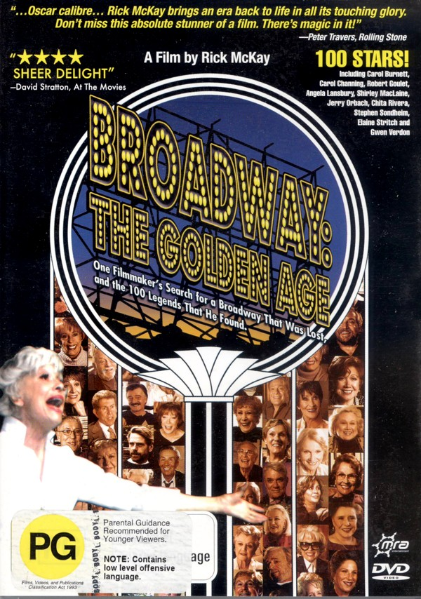 Broadway - The Golden Age, by the Legends Who Were There on DVD image