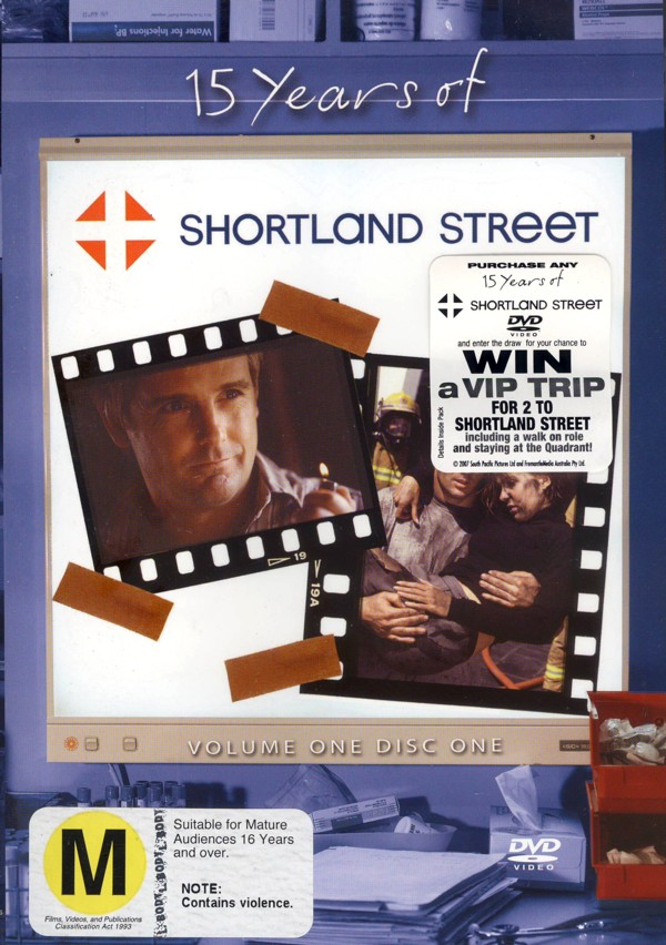 15 Years of Shortland Street :- Vol 1 Disc 1 on DVD image