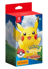 Pokemon Let's Go Pikachu! Bundle for Nintendo Switch