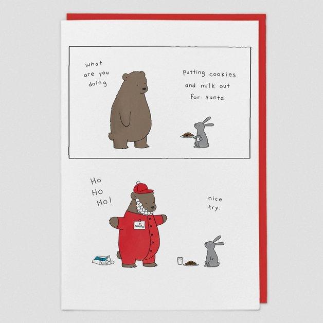 Redback Card: Cookies & Milk for Santa