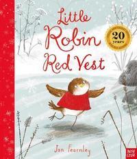 Little Robin Red Vest by Jan Fearnley image