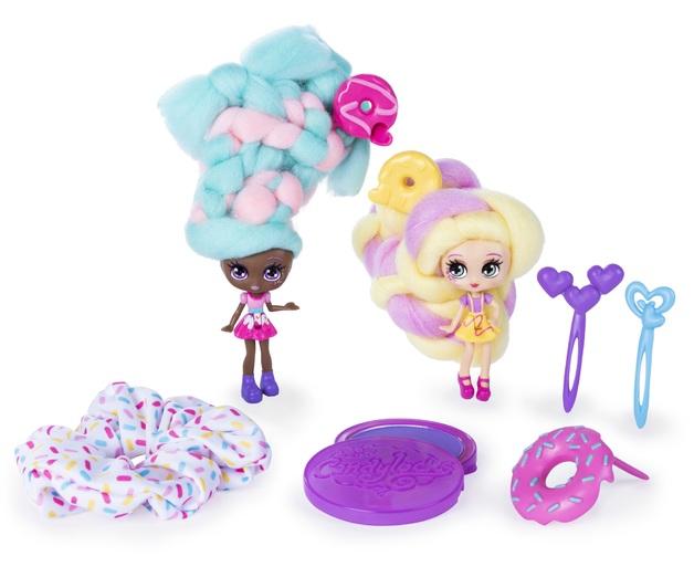 Candylocks: BFF Dolls 2-Pack - Jilly Jelly & Donna Nut