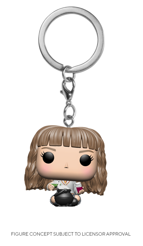 Harry Potter: Hermione Granger (with Potions) - Pocket Pop! Keychain