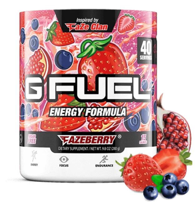 G FUEL Energy Formula - FaZeberry (40 Servings)