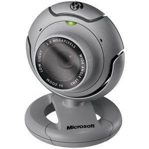 Microsoft Lifecam VX-6000 Silver USB 1.3mp Video image