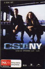 CSI - NY: Season 1 - Episodes 1.13-1.23 (3 Disc Box Set) on DVD