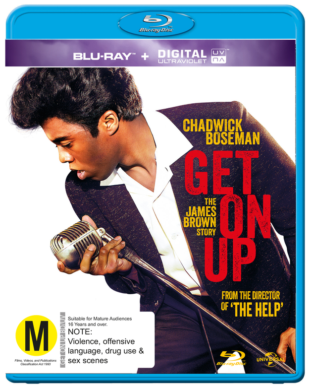 Get On Up on Blu-ray