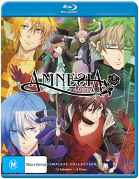 Amnesia - The Complete Series (2 Disc Set) on Blu-ray
