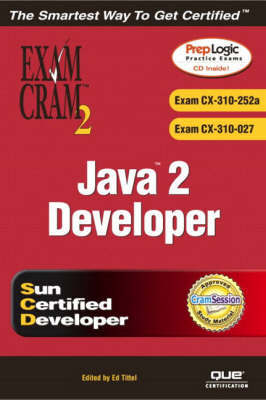 Java 2 Developer Exam Cram 2 (Exam CX-310-252a and CX-310-027) by Alain Trottier image
