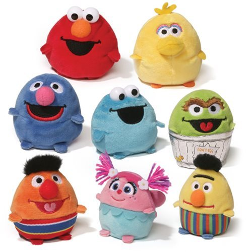 "Sesame Street: Egg Friends - 3"" Plush (Assorted Designs)"