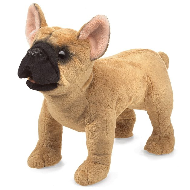 Folkmanis Hand Puppet - French Bulldog