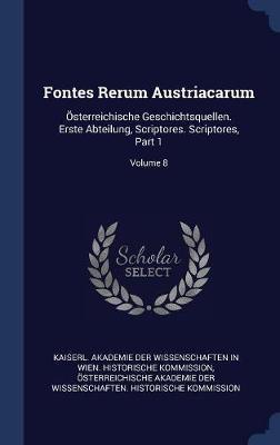 Fontes Rerum Austriacarum image