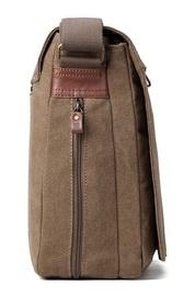 Troop London: Classic Flap-Front Messenger Large - Brown image