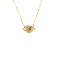 Short Story: Necklace Third Eye Gold