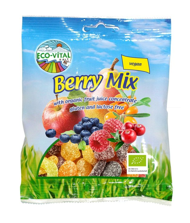 Eco-Vital Organic Berry Mix 100g