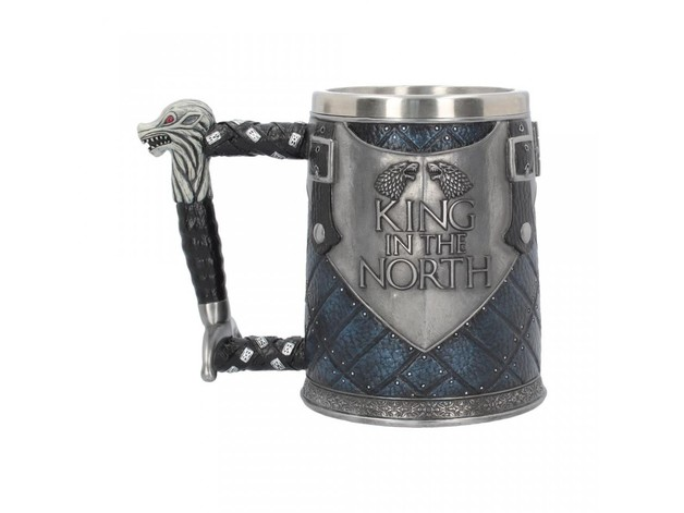 Game of Thrones: King in the North Tankard (14cm)