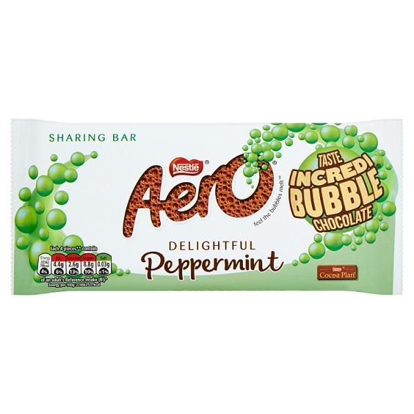 Nestle Aero Peppermint Block 100g image