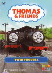 Thomas & Friends - Twin Trouble on DVD