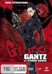 Gantz - Vol 4 on DVD