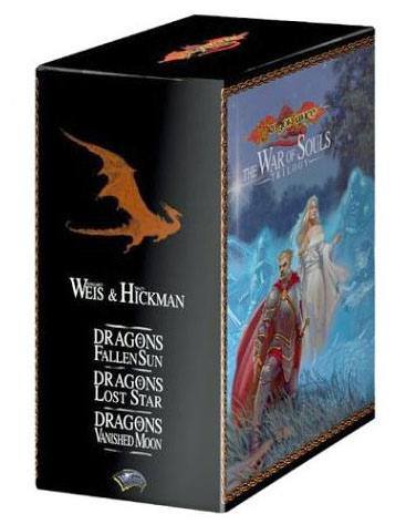 Dragonlance: The War of Souls Trilogy Boxed Set by Margaret Weis image