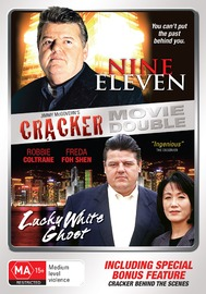 Cracker Movie Double - Nine Eleven / Lucky White Ghost (2 Disc Set) on DVD image