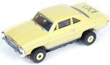 Auto World ThunderJets Ultra-G R9 '66 Chevy Nova Slot Car - Yellow