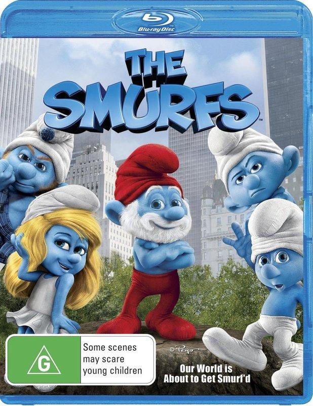 The Smurfs on Blu-ray
