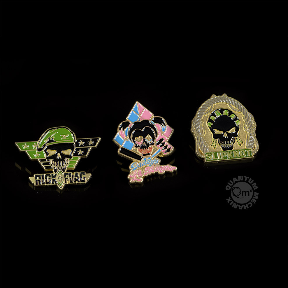 Suicide Squad Lapel Pins — Set 3 image