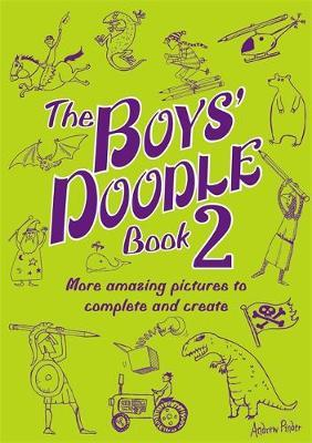 The Boys' Doodle Book 2 by Andrew Pinder image